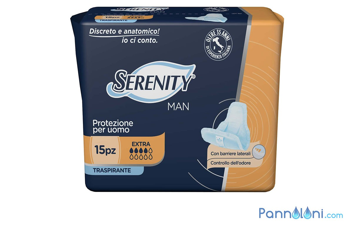 Serenity Man Assorbente Uomo
