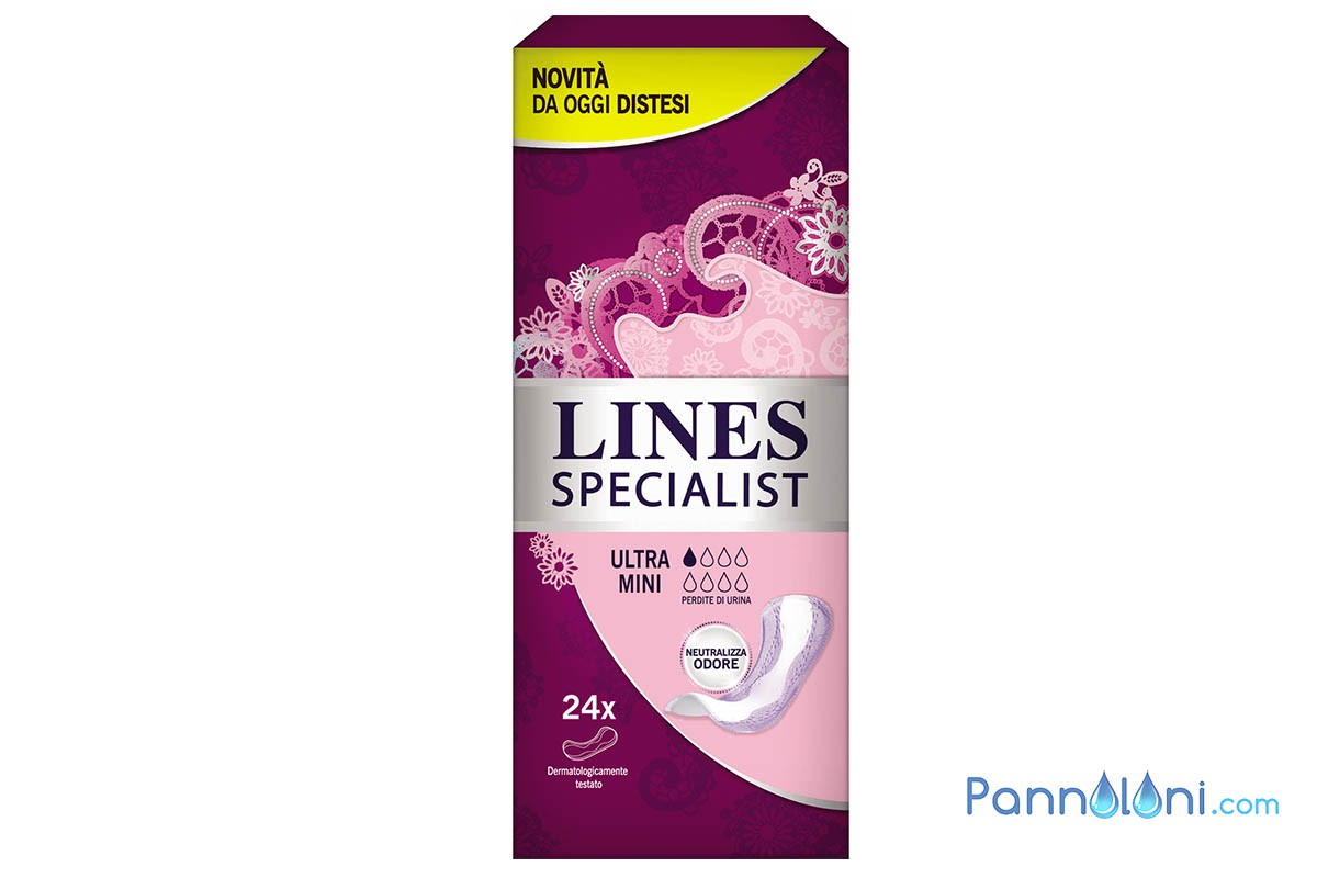 Assorbente per Donna Ultra Mini Lines Specialist, Leggero Giorno